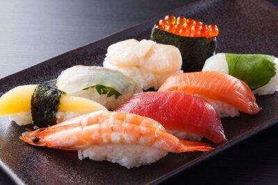 Poster に ぎ り 寿司 の 盛 合 せ
