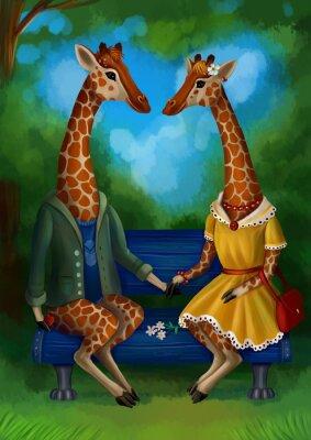 Poster Жираф на свидание