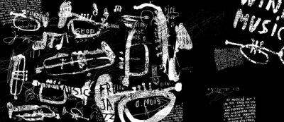 Poster Духовые музыкальные инструменты