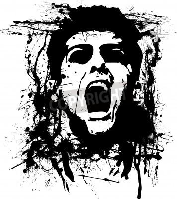Poster zombie horror