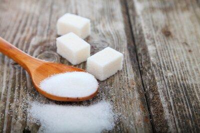 Poster Zucchero in un cucchiaio