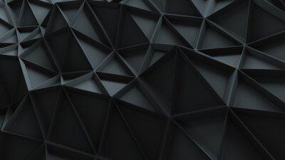 Quadro 3d astratto con pattern ripetuto