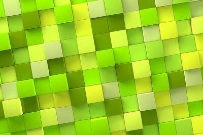 Quadro 3d sfondo Cube