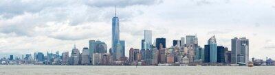 Quadro Abbassare Manhatta NYC Panorama