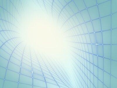 Quadro Abstract Background moderna Techno