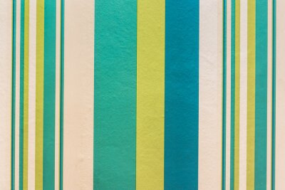Quadro Abstract colorful vintage background with stripe pattern on wall