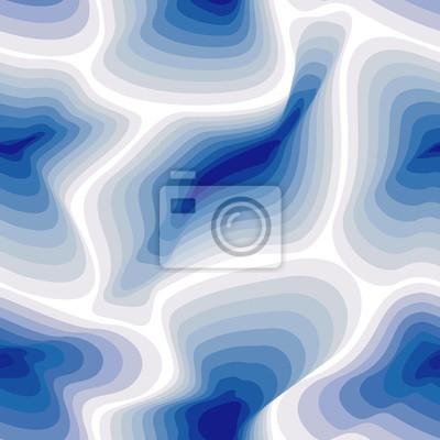 Abstract Marmo Modello Blu Seamless Pattern Con Macchie Blu