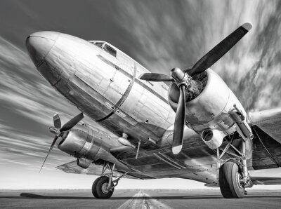 Quadro aereo su una pista storica