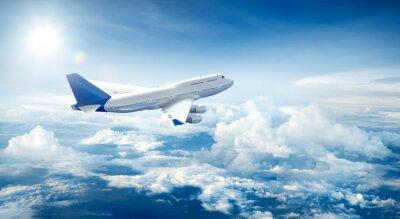 Quadro Aereo volare sopra le nuvole