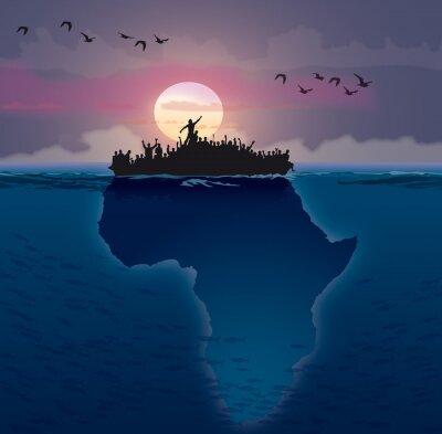Quadro Afrique - EMIGRAZIONE