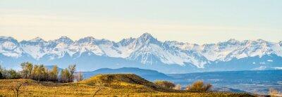 Quadro ai piedi delle Montagne Rocciose del Colorado