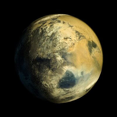 Quadro Alien Planet Exo