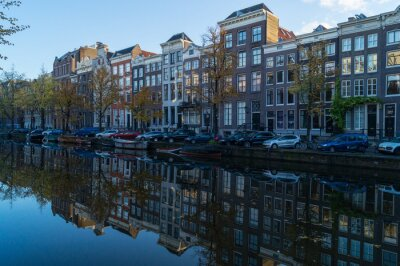 Quadro Amsterdamer gracht