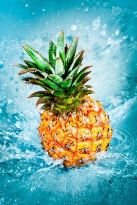 Quadro ananas fresco