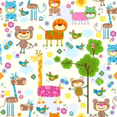 Quadro animali background