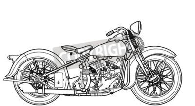 Quadro Annata motociclistica