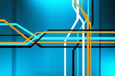 Quadro Astratto circuito