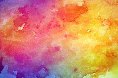 Quadro Astratto sfondo colorato ad acquerello per la progettazione grafica