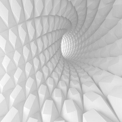 Quadro Astratto Spiral Tunnel Render