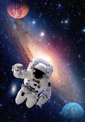 Quadro Astronauta Spaceman spazio esterno persone galassia pianeta sistema solare nell'universo. Elementi di questa immagine fornita dalla NASA.