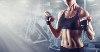 Quadro Athletic girl