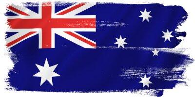 Quadro Australia flag