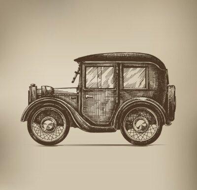 Quadro Auto d'epoca