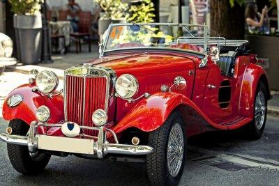 Quadro auto d'epoca in Esposizione