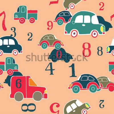 Quadro auto e cifre