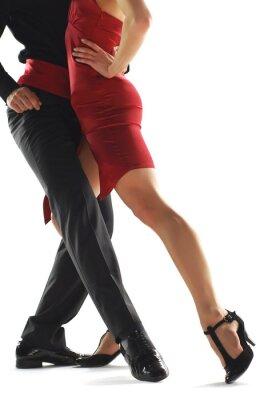 Quadro ballerini di tango elegnace