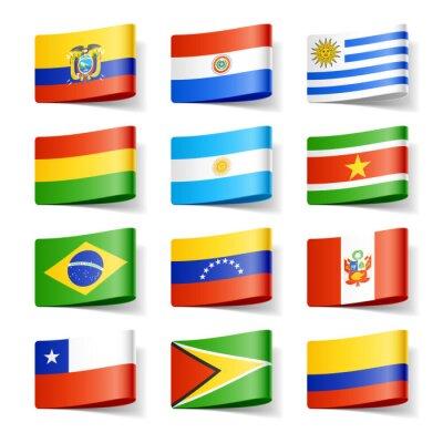 Quadro Bandiere del mondo.