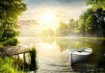 Quadro Barca sulla banca
