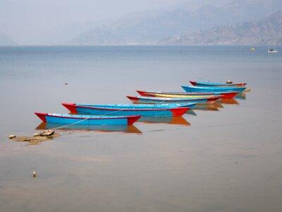 Quadro Barche sul lago Fewa