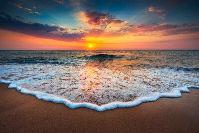 Quadro Bella alba sul mare