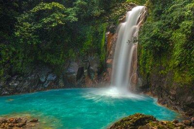 Quadro Bella Rio Celeste cascata