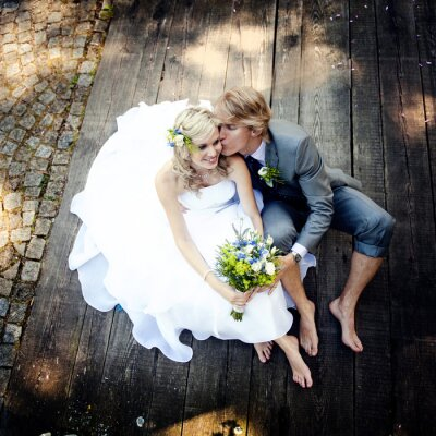 Quadro Bella sposi