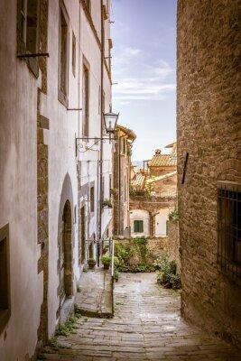 Quadro Bella strada di Cortona, in Toscana