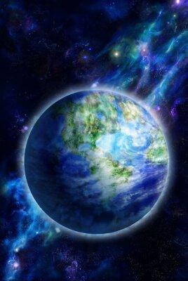 Quadro Bella Terra è nello spazio