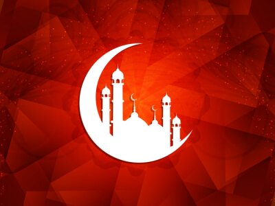 Quadro Bellissimo sfondo islamico.