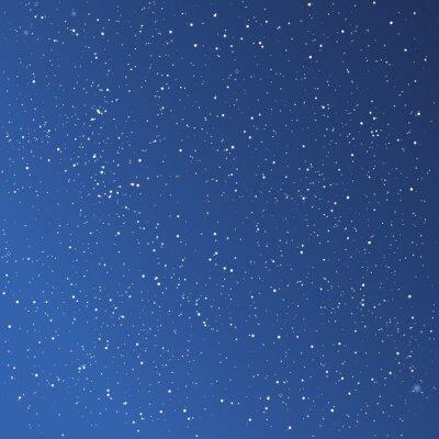 Quadro Bello sfondo cielo stellato