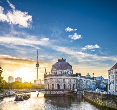 Quadro Berlino, Germania Scena al Museo Isola