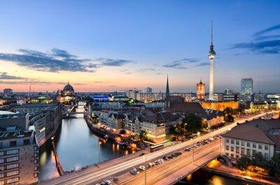 Quadro Berlino skyline panorama