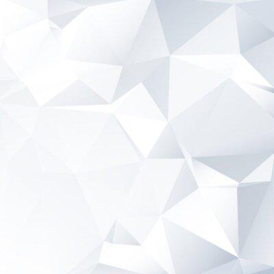 Quadro Bianco e Nero lowpoly Vector Background   EPS10 design