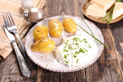Quadro bibeleskaes, ricotta e patate