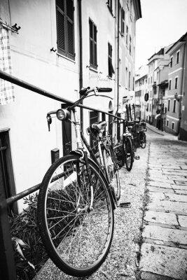 Quadro Biciclette Nel Vicolo
