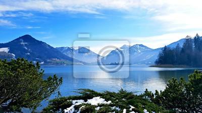 Quadro Blu alpino