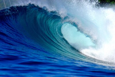 Quadro Blue Ocean Wave surf