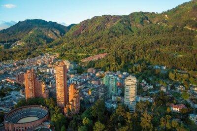Quadro Bogotà e le Ande