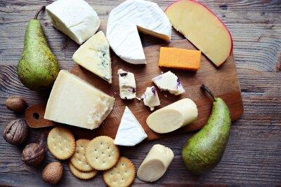 Quadro bordo del formaggio