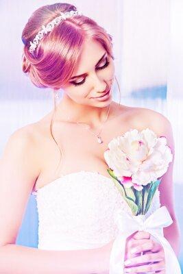 Quadro bouquet di nozze
